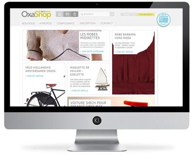Créez votre site Oxatis